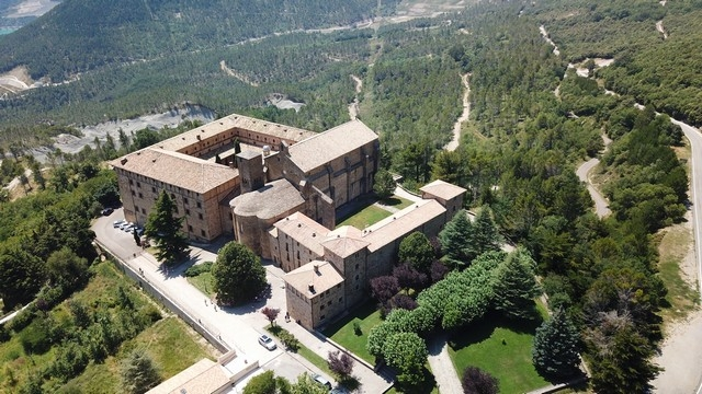 Monastère de Leyre en Navarre
