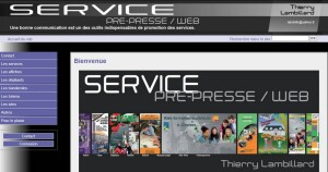 "Site ""Service Pré-presse - PAO"""