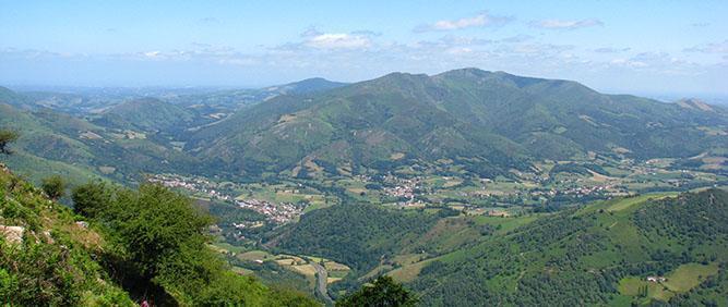 Vue du Jara - Pays Basque
