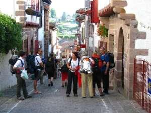Les pèlerins de Saint Jean Pied de Port - Pays Basque