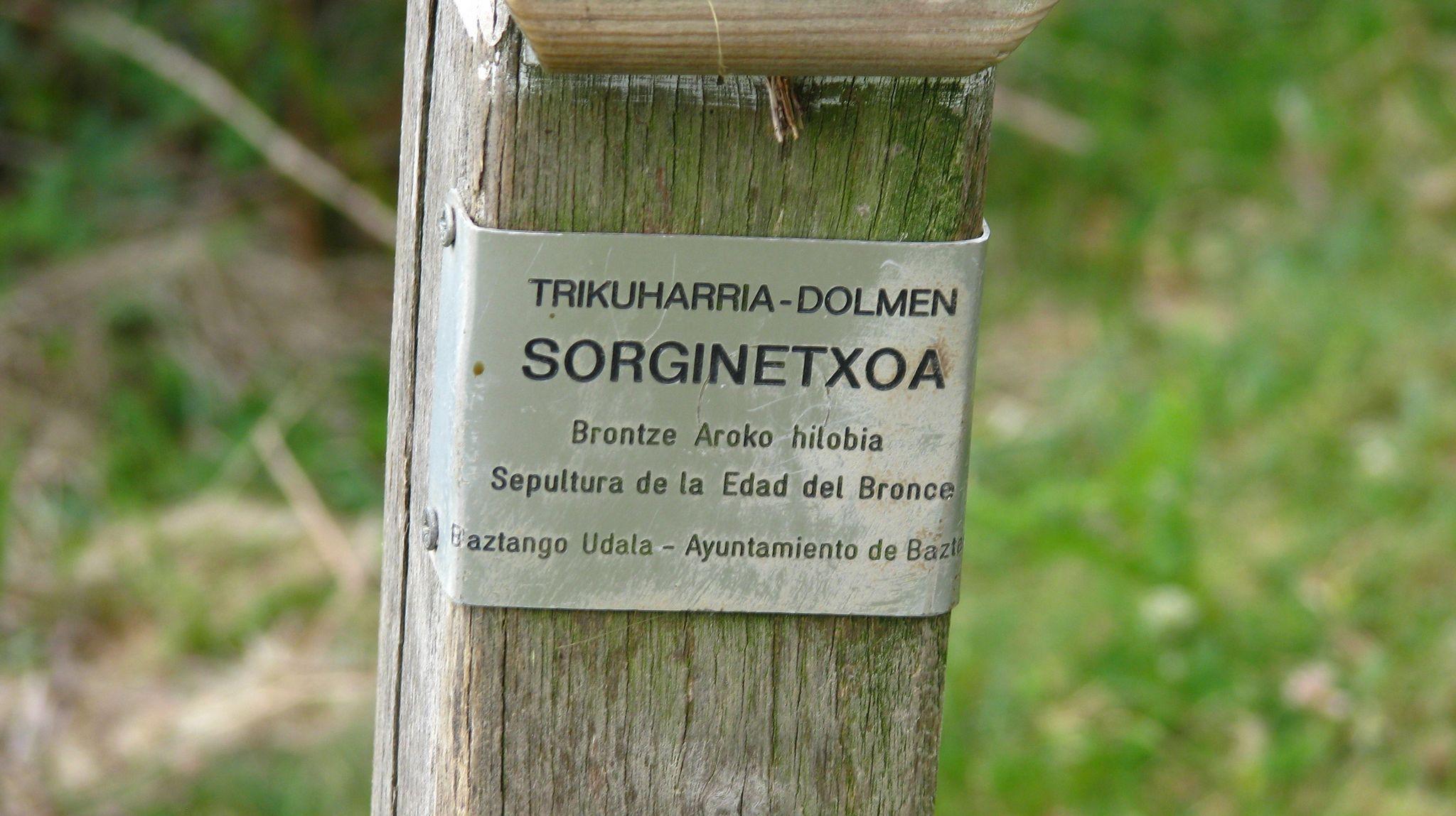 Dolmens de Xorroxin - Navarre