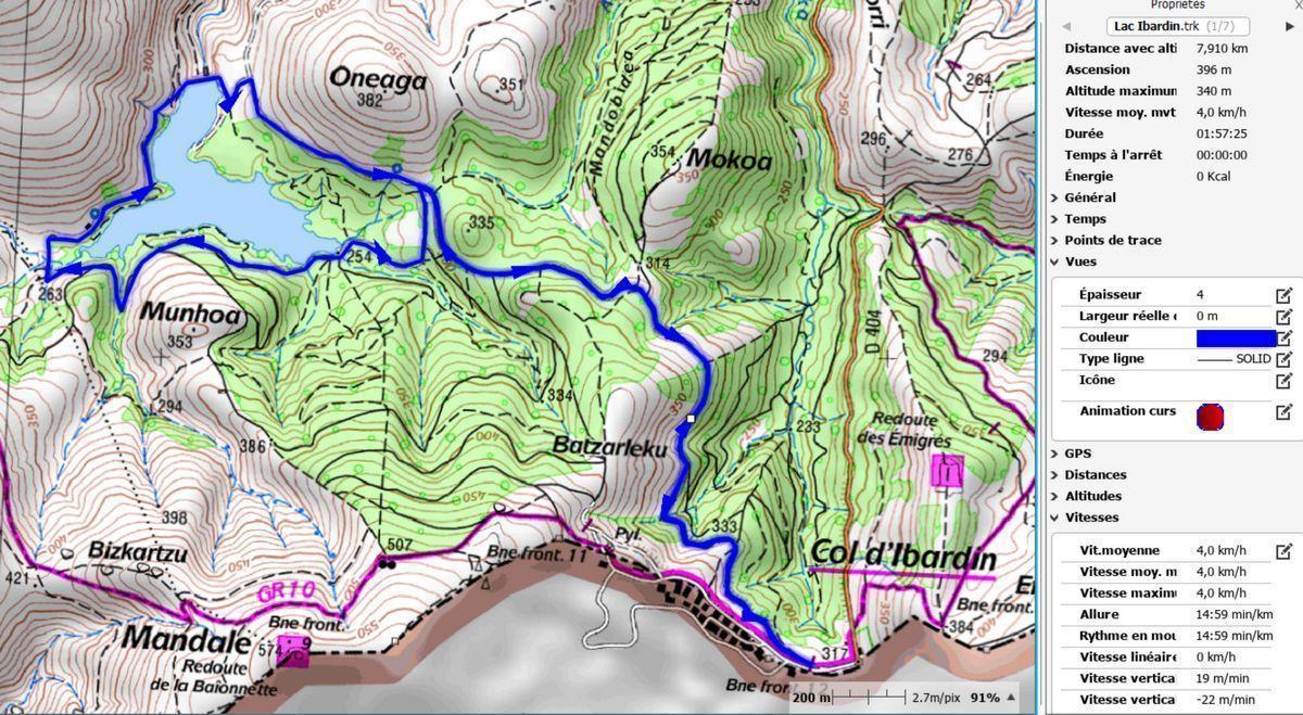 Randonnée du lac d'Ibardin - Labourd - Pays Basque