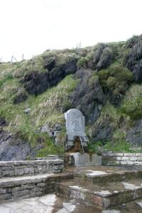La fontaine d'Ahusquy - Basse Navarre - Pays Basque