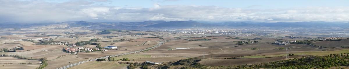 Panorama Sierra del Pardon - Navarre