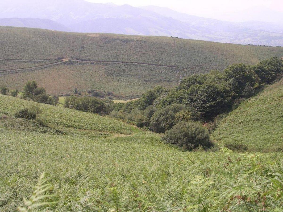 Urcuray - chemin des sources - balade en balcon - le vallon des sources