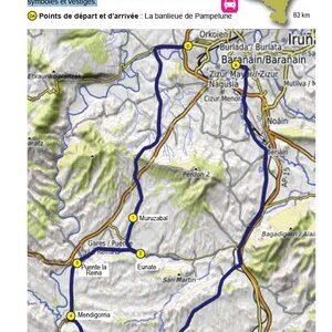 circuit touristique Navarre