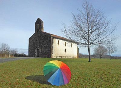 La boucle de la Chapelle St Sauveur à Jatxou